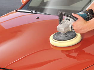 mobile machine polishing